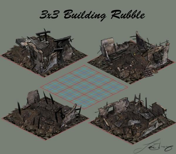 3x3 Rubble building1