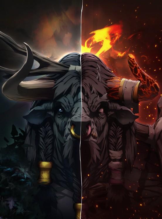 Taurian Druid