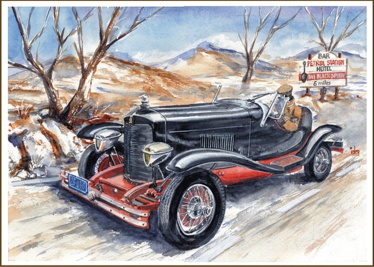 Dupont Model G Speedster - 1929
