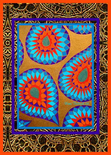 Textile Design for Nefertiti...