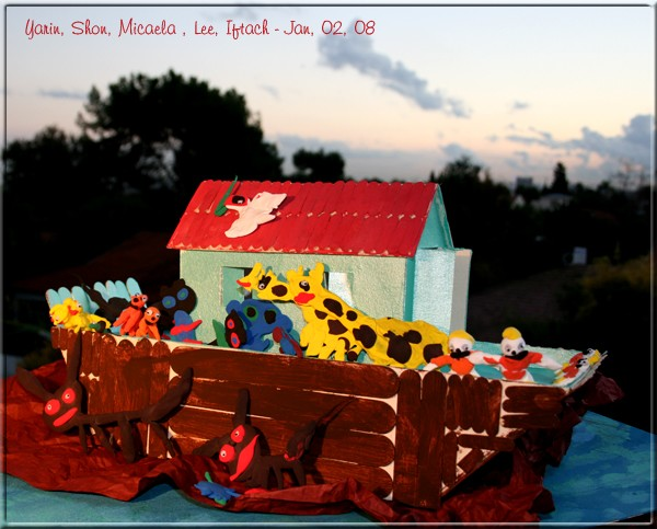 Noah's Ark -  Artistic Activity with Kids