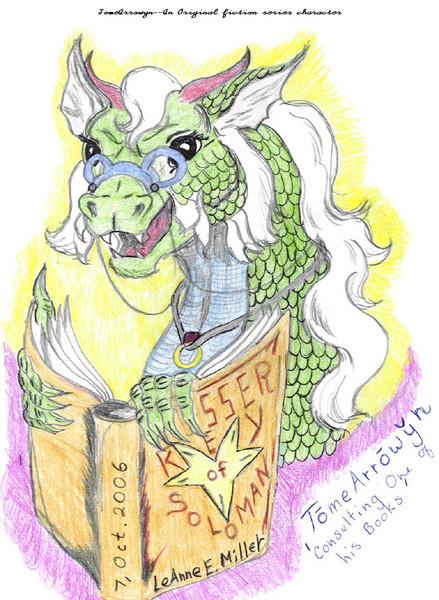 TomeArrowyn--An Empire Dragon