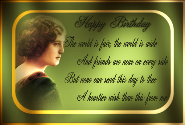 victorian birthday wish