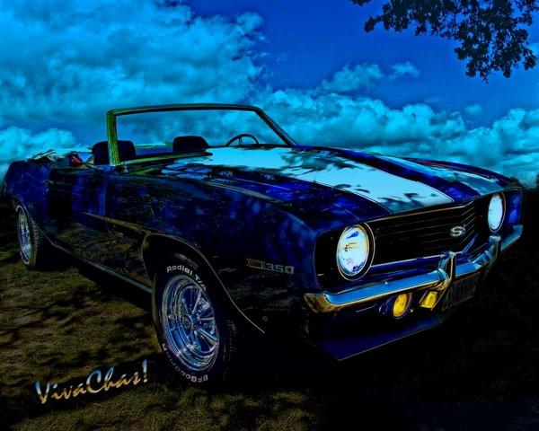 Camaro In Moonglow