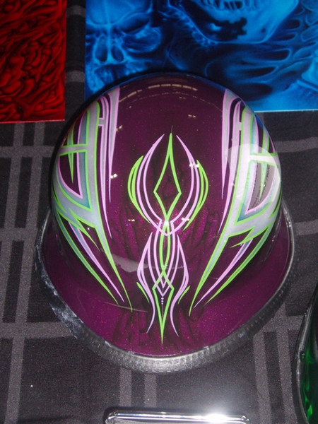 Sparklescent Purple Helmet