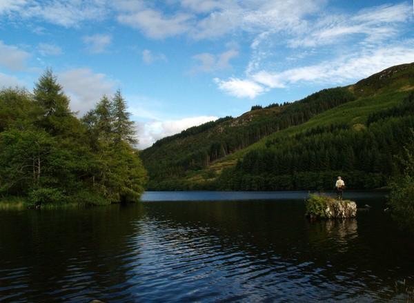 Evening at Loch Avich