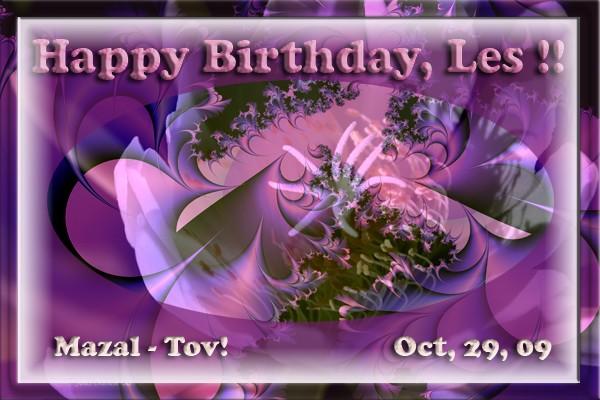 Happy Birthday, Leslie..!!!