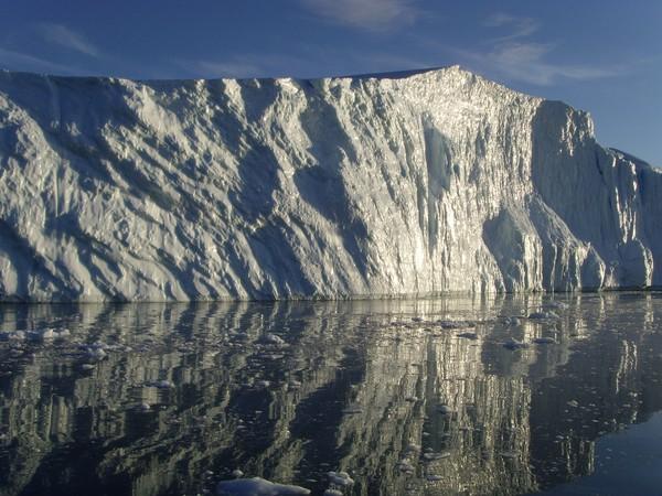 Imposing iceberg