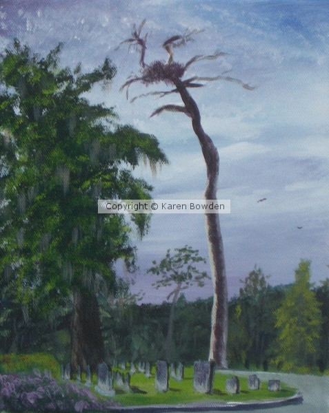 Eagles Nest Over Greenwood Cemetery - SOLD