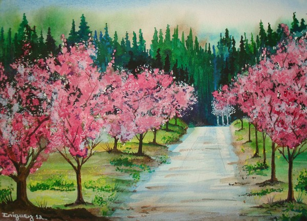 SPRING BLOSSOMS, path