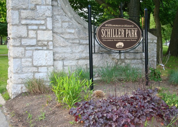 Schiller Park Entrance