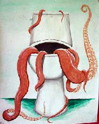 Octopus Toilet