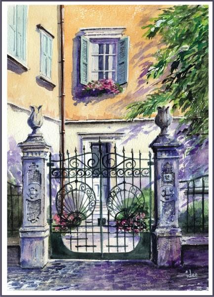 Old Italian style in Garda