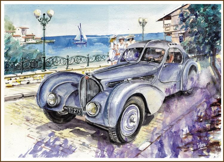 The Bugatti  57SC Atlantic - 1935