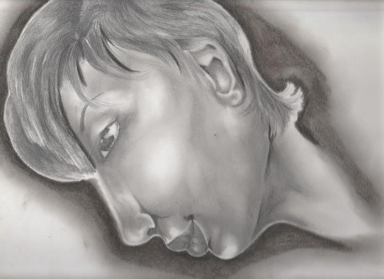 Self Portrait: Profile
