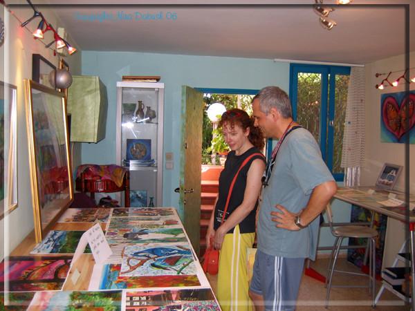 Open - studio Exhibition,Sep 06