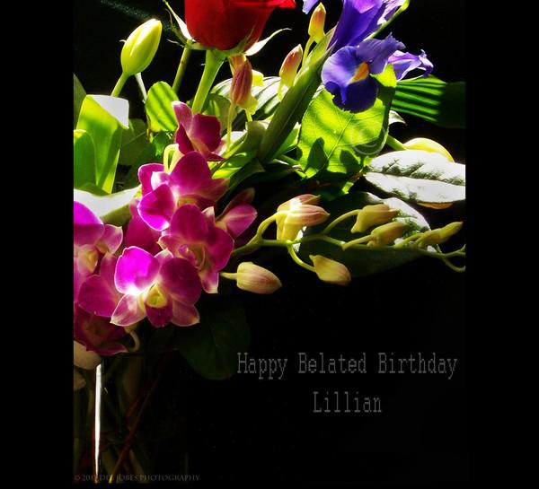 Happy Belated  Birthday Lillian