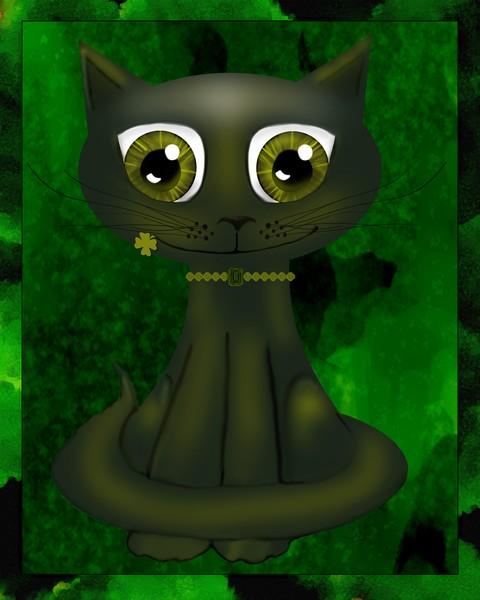 st patty cat