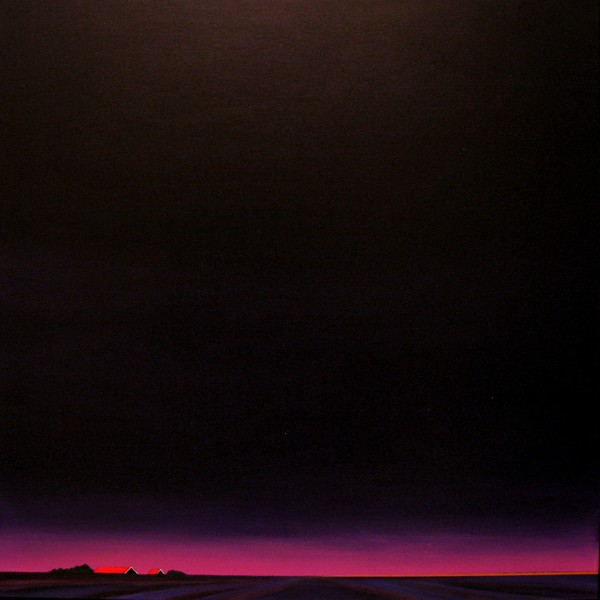 The start of a purple night