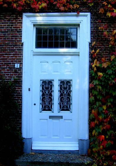 my frontdoor in autumn