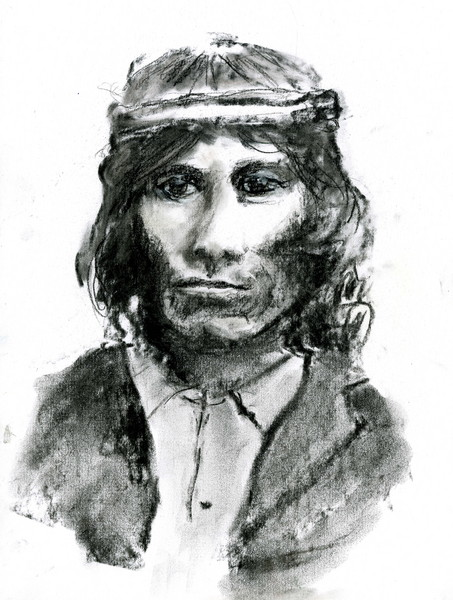 Youth (in Charcoal)