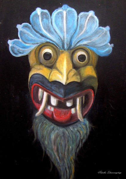 Traditional Mask Sri Lanka (Gara devil)