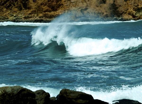 A Little Wave Action