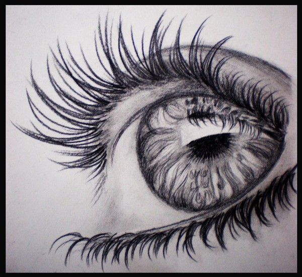 Eyes are an ocean in which dreams are reflected !