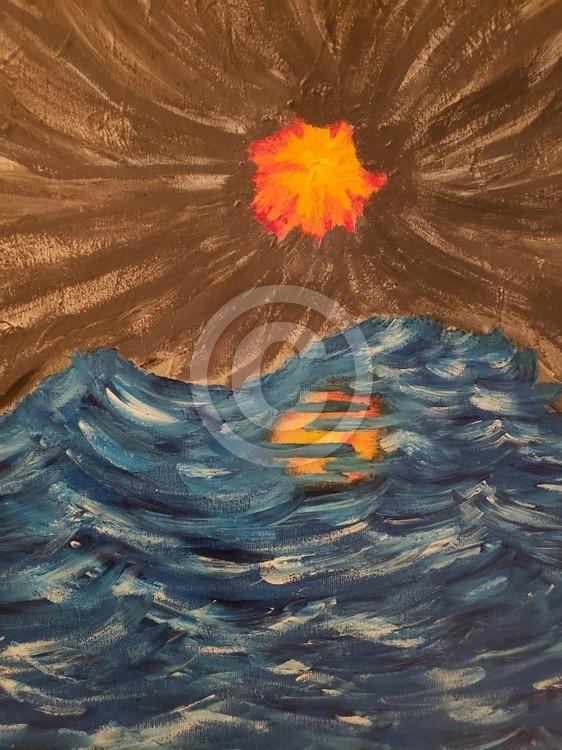 skyocean painting