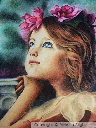 Child with Flower
