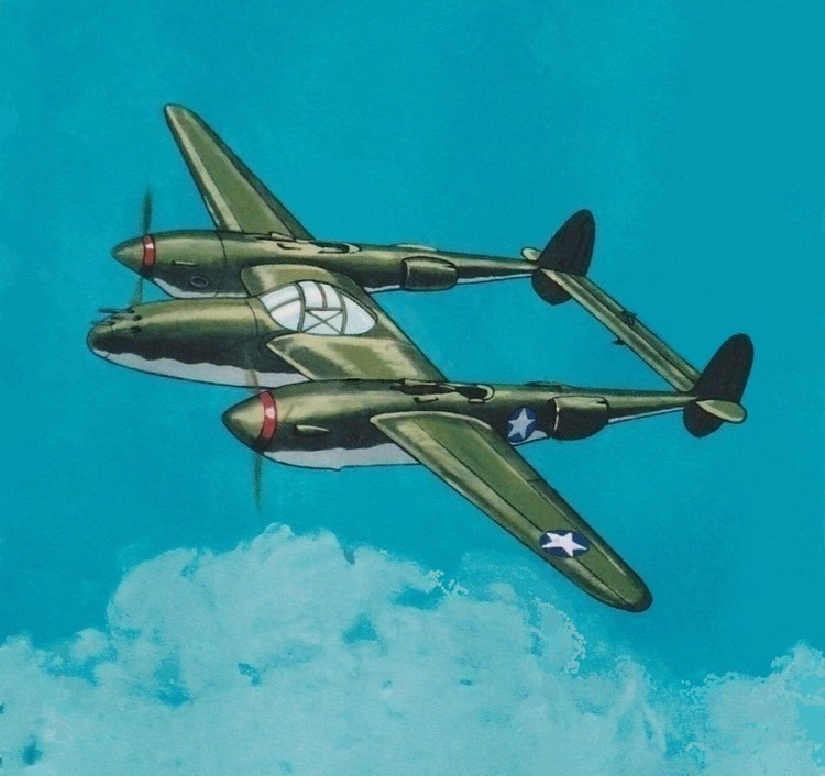 The Lockheed P-38 - Lightning
