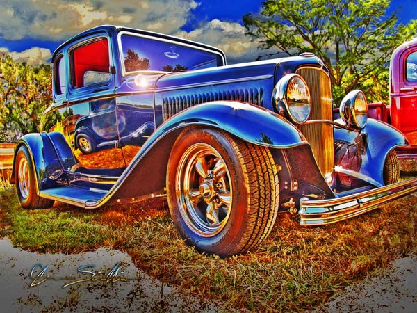Ford Five Window Coupe