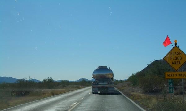 Silver Truck 1 Follow me