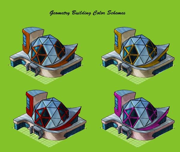 geometry building paint