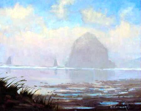 Misty Monolith