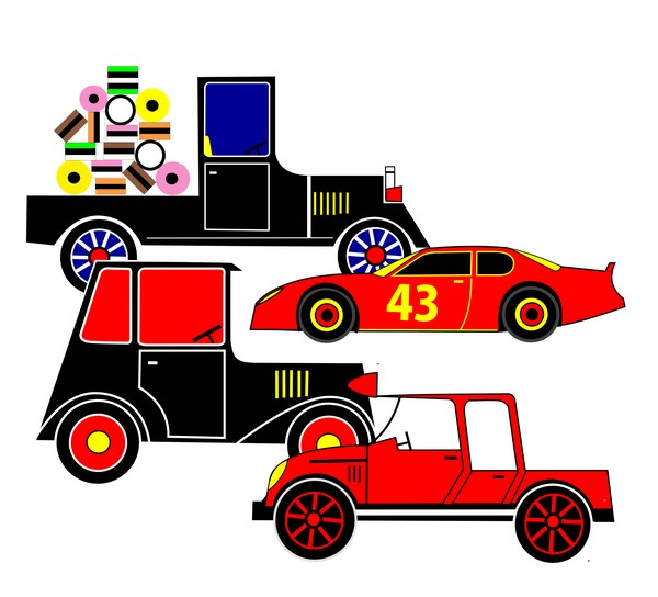 Cars from different collections