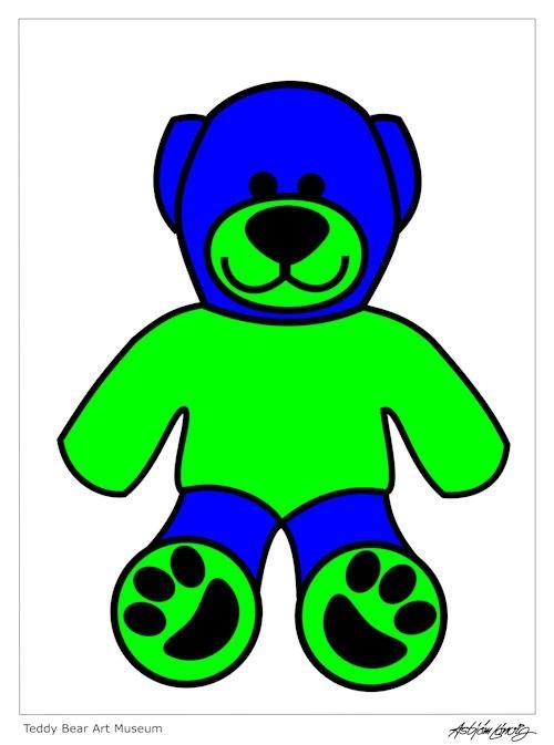 classic teddy-green-blue-500