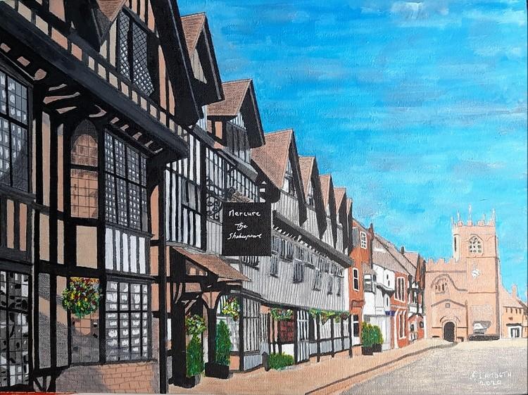 High  Street,  Stratford-on -Avon ,England.