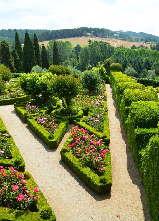 Beautiful garden in Portugal