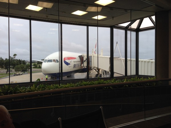 British Air from TPA