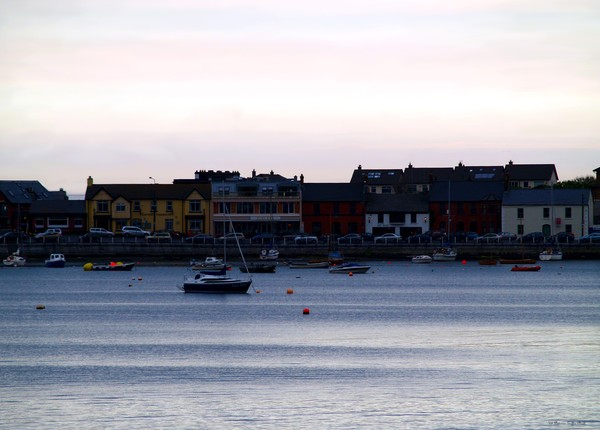 Twilight in the Harbor at Skerries