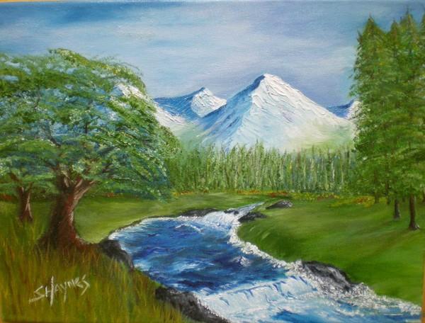 Mountain Stream flows...