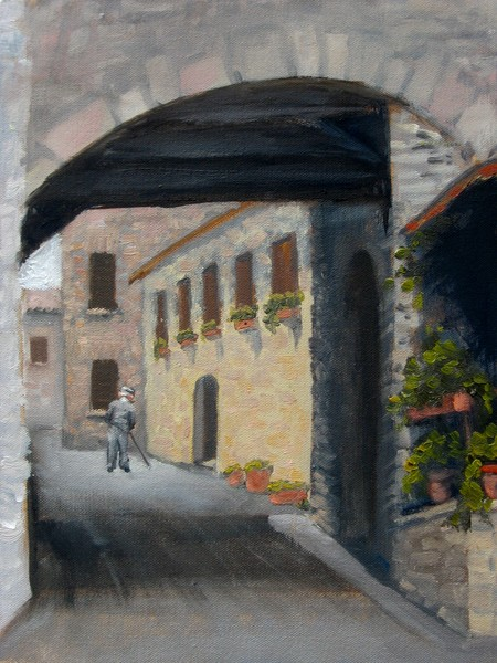 Streets of Corciano