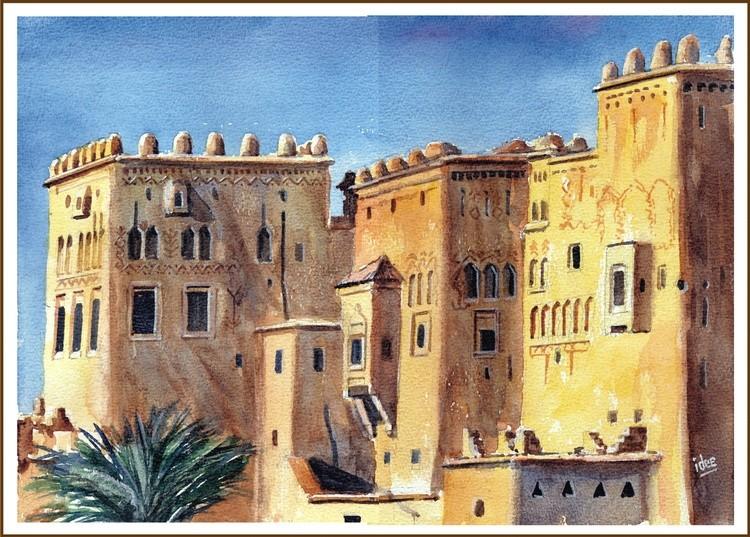 Kasbah in Ouarzazate (Morocco)