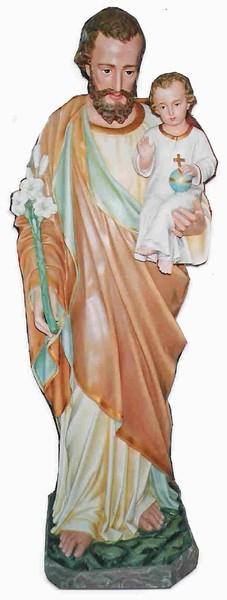 Life size Joseph Statue with Baby Jesus