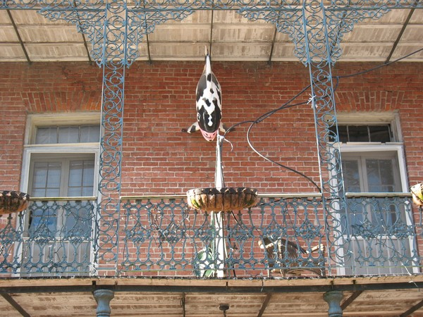 Typical New Orleans Balcony