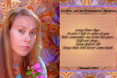 How Time Flies - Myself 2005
