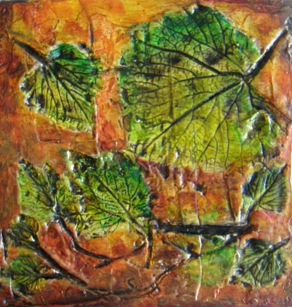 Grape Vine Leaves (Fossil Art)