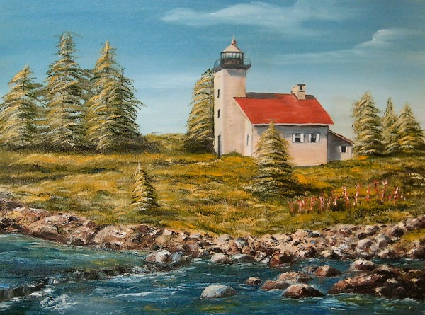 Copper Harbor LIghthouse-Finished