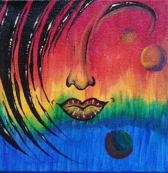 Abstract Facial 5